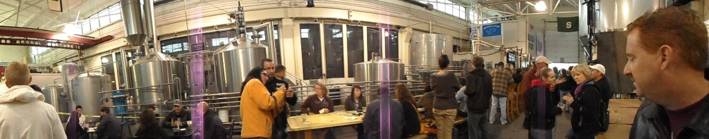 Inside Atwater Brewery Tasting Room