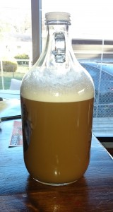Starter in Clear Growler