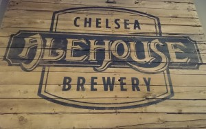 Chelsea Alehouse Wooden Sign