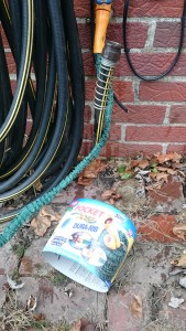 Use Portable Hose for Wort Chiller in Wintertime